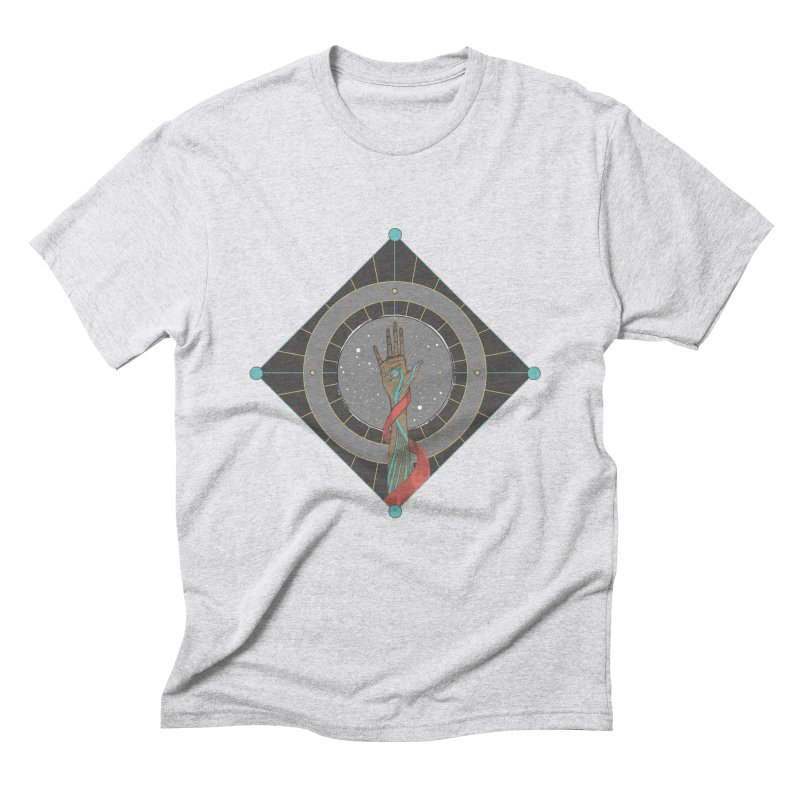 Guided Hand Men's Triblend T-Shirt by Manaburn's Shop