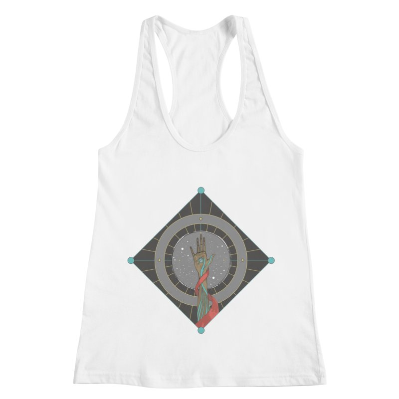 Guided Hand Women's Racerback Tank by Manaburn's Shop