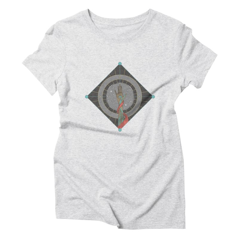 Guided Hand Women's Triblend T-Shirt by Manaburn's Shop
