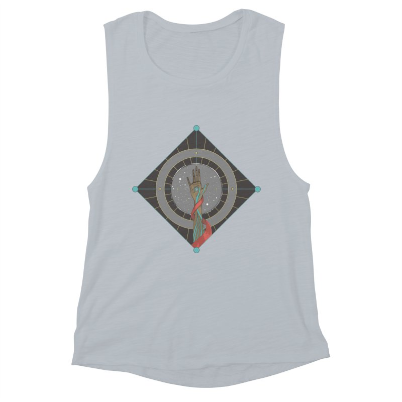 Guided Hand Women's Muscle Tank by Manaburn's Shop