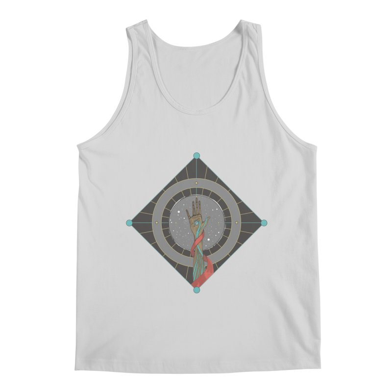 Guided Hand Men's Regular Tank by Manaburn's Shop