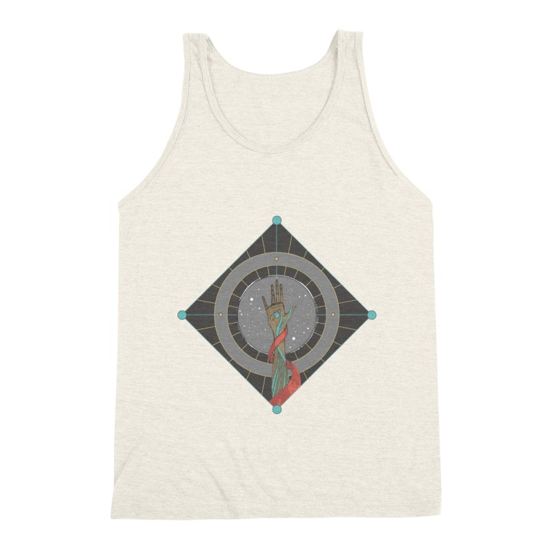 Guided Hand Men's Triblend Tank by Manaburn's Shop