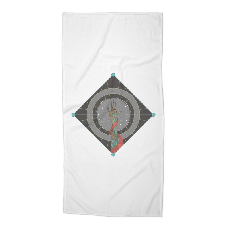 Guided Hand Accessories Beach Towel by Manaburn's Shop