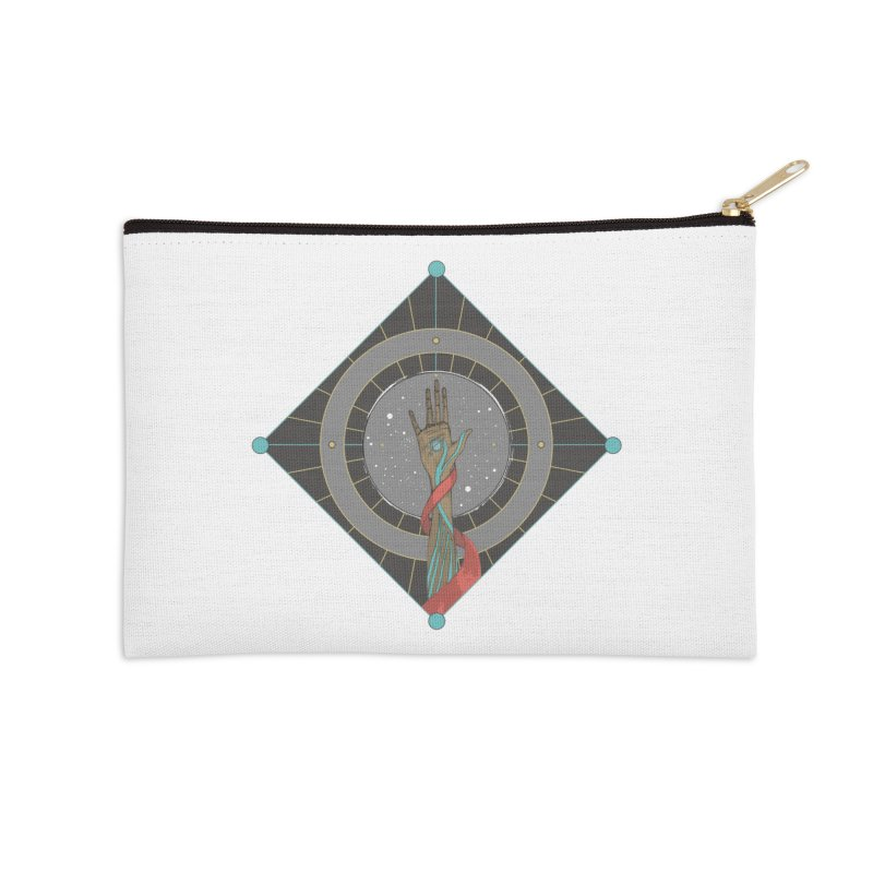 Guided Hand Accessories Zip Pouch by Manaburn's Artist Shop