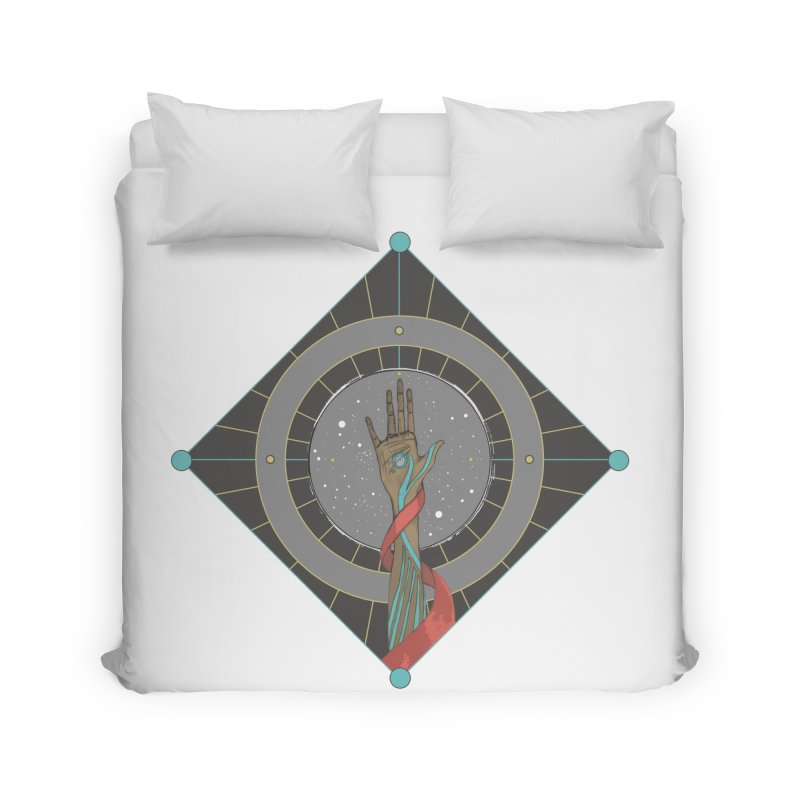 Guided Hand Home Duvet by Manaburn's Artist Shop
