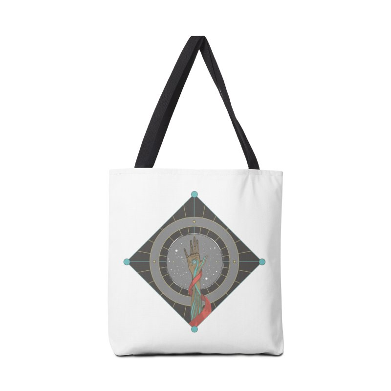 Guided Hand Accessories Tote Bag Bag by Manaburn's Shop