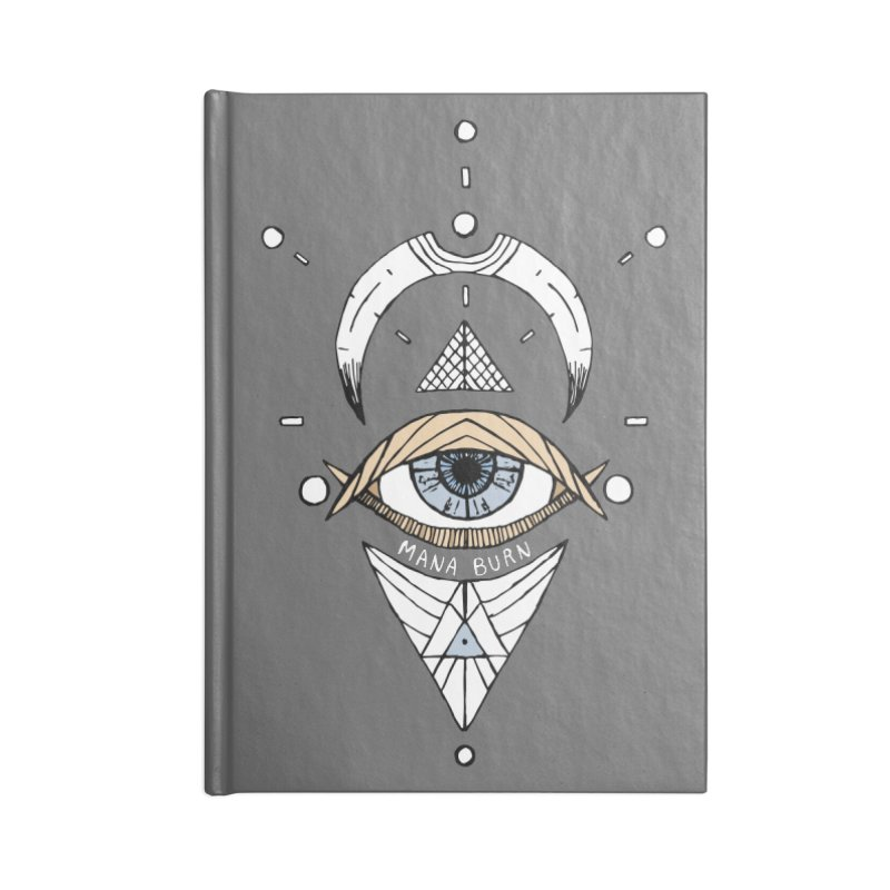 Acumen Accessories Lined Journal Notebook by Manaburn's Shop