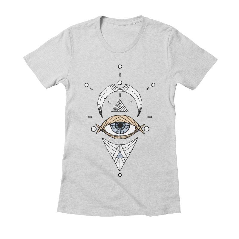 Acumen Women's Fitted T-Shirt by Manaburn's Artist Shop