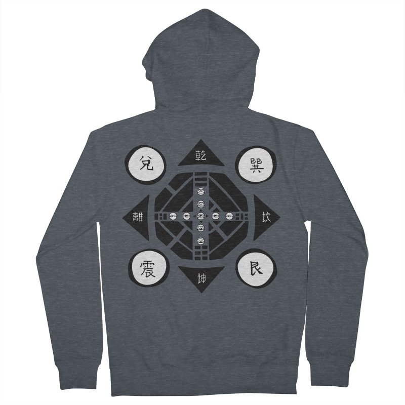 Sanpaku Men's Zip-Up Hoody by Manaburn's Artist Shop