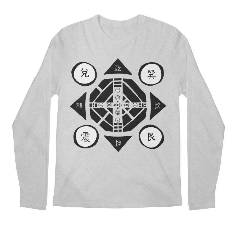 Sanpaku Men's Regular Longsleeve T-Shirt by Manaburn's Shop