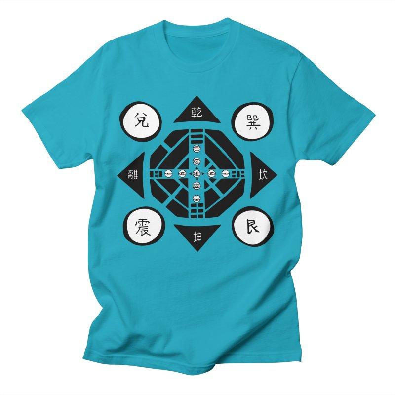 Sanpaku Men's T-shirt by Manaburn's Artist Shop