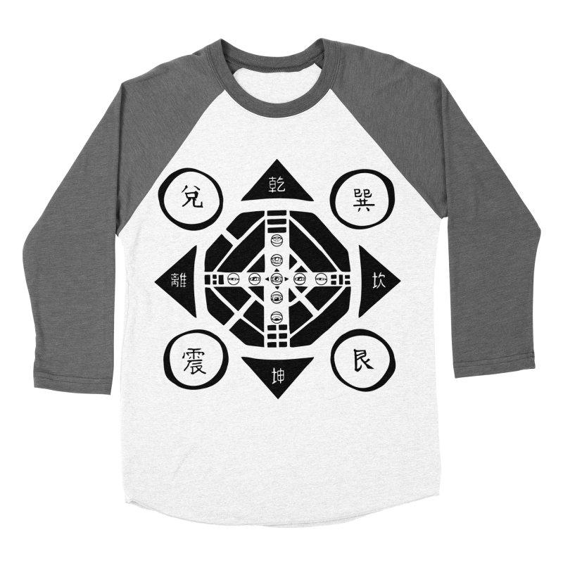 Sanpaku Men's Baseball Triblend Longsleeve T-Shirt by Manaburn's Shop