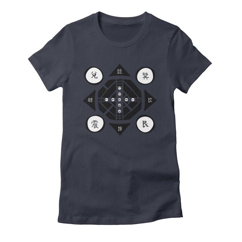 Sanpaku Women's Fitted T-Shirt by Manaburn's Shop