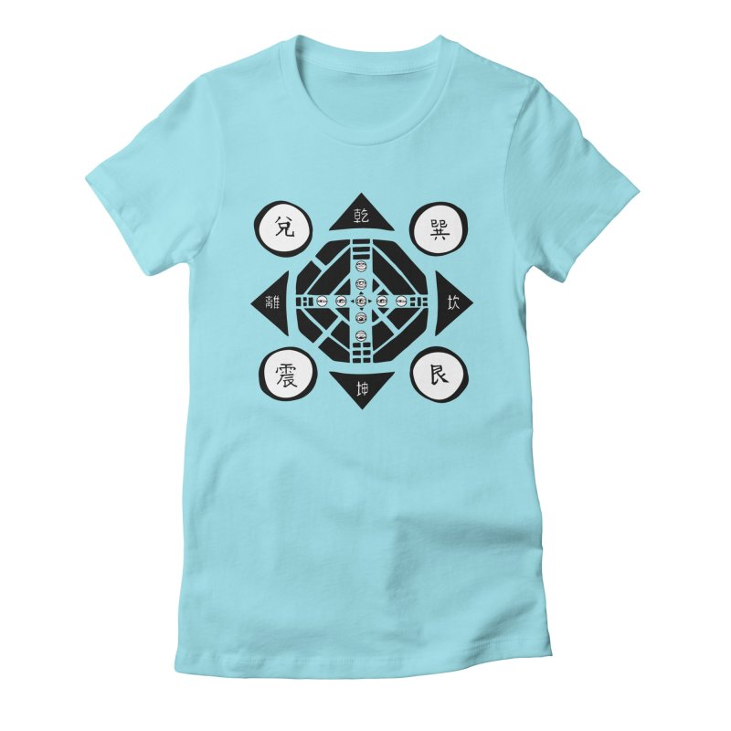 Sanpaku Women's Fitted T-Shirt by Manaburn's Shop