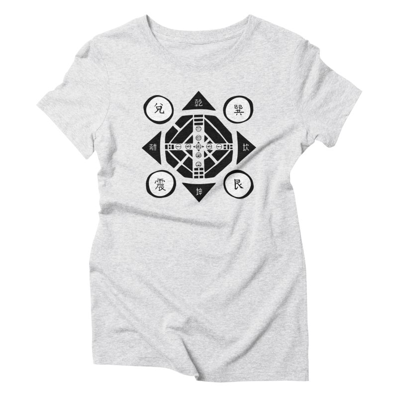 Sanpaku Women's Triblend T-Shirt by Manaburn's Artist Shop