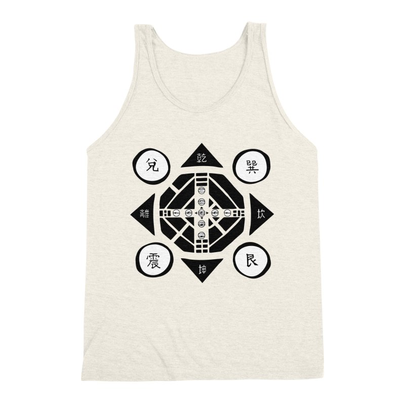 Sanpaku Men's Triblend Tank by Manaburn's Shop