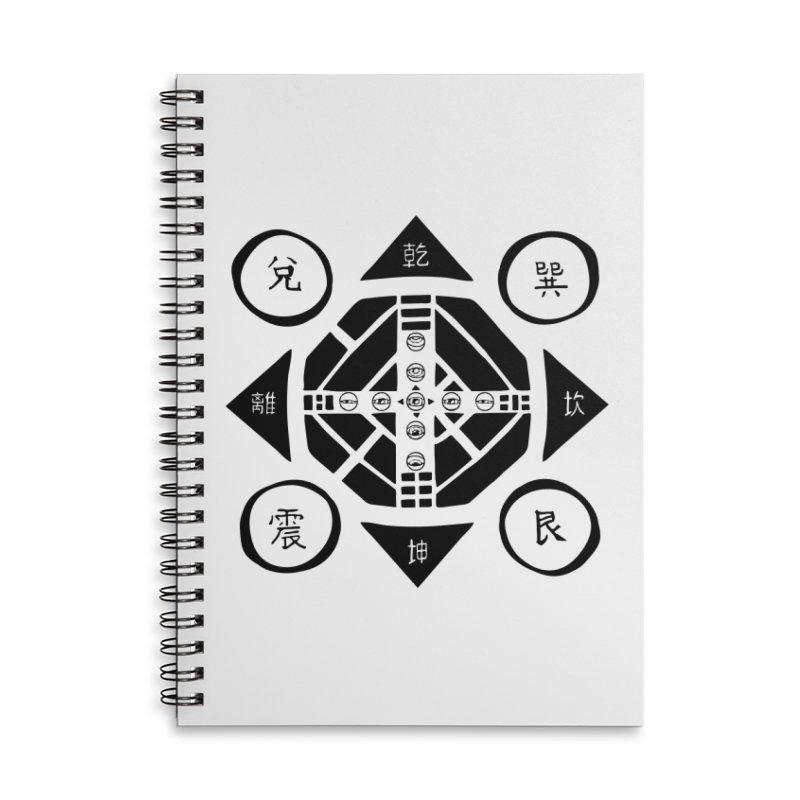 Sanpaku Accessories Lined Spiral Notebook by Manaburn's Shop