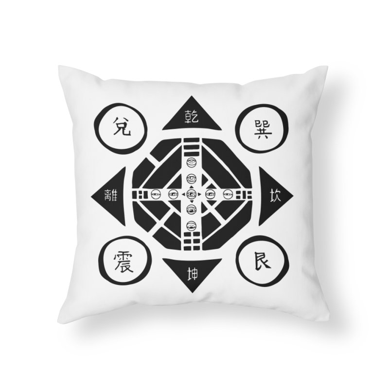 Sanpaku Home Throw Pillow by Manaburn's Shop