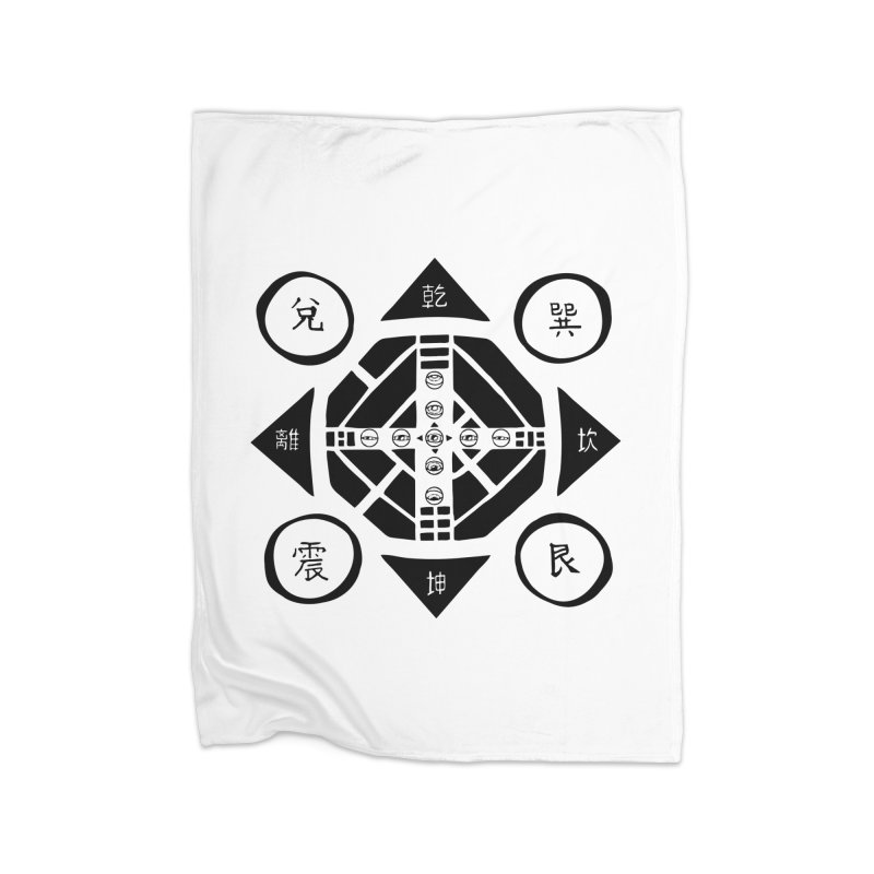 Sanpaku Home Fleece Blanket Blanket by Manaburn's Shop