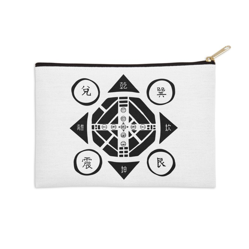 Sanpaku Accessories Zip Pouch by Manaburn's Artist Shop