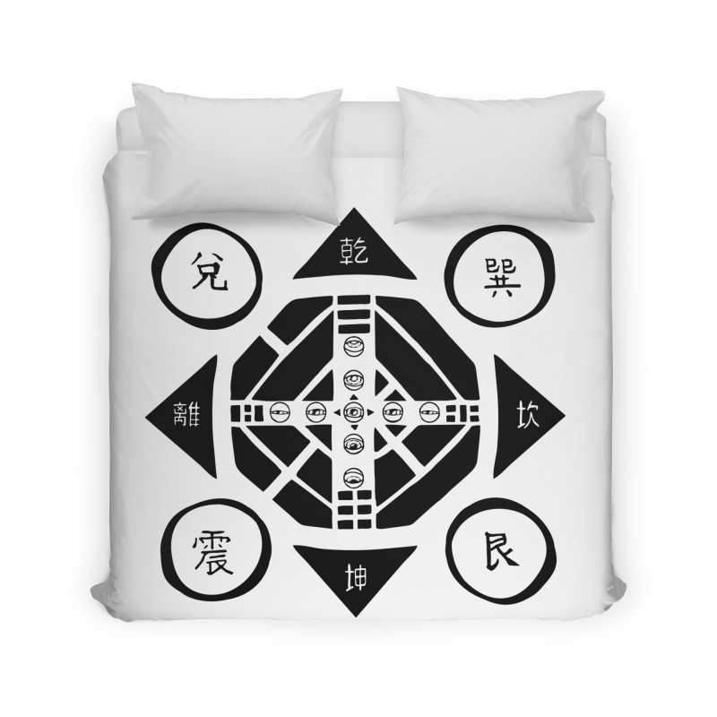Sanpaku Home Duvet by Manaburn's Artist Shop