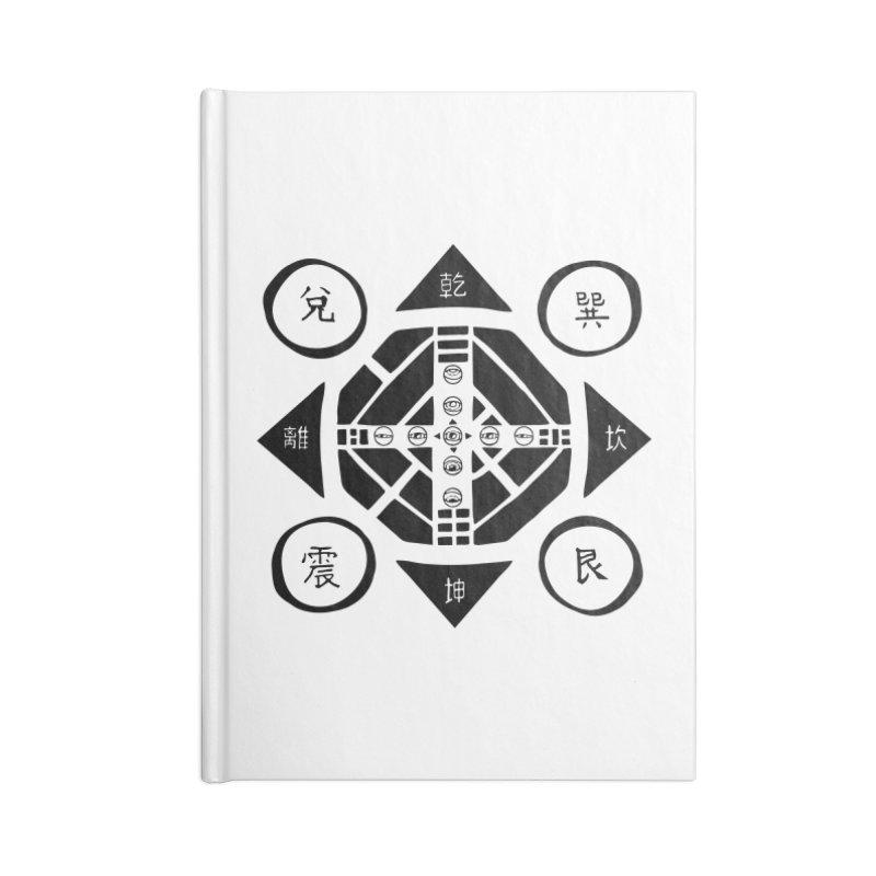 Sanpaku Accessories Lined Journal Notebook by Manaburn's Shop