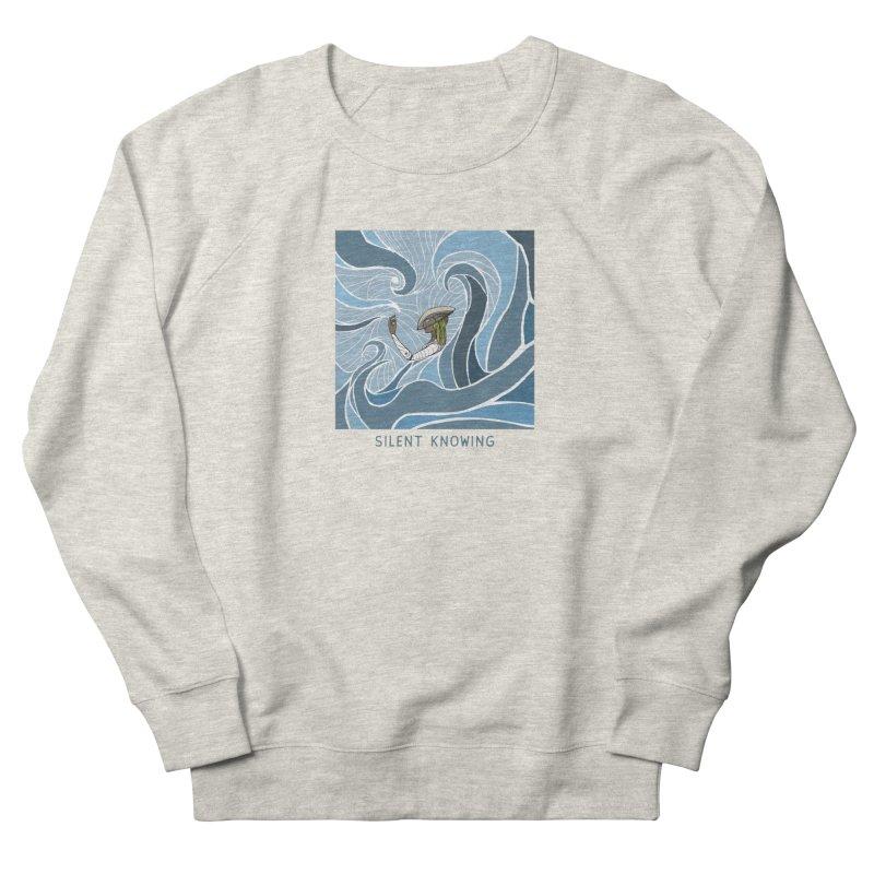 Silent Knowing Men's Sweatshirt by Manaburn's Shop