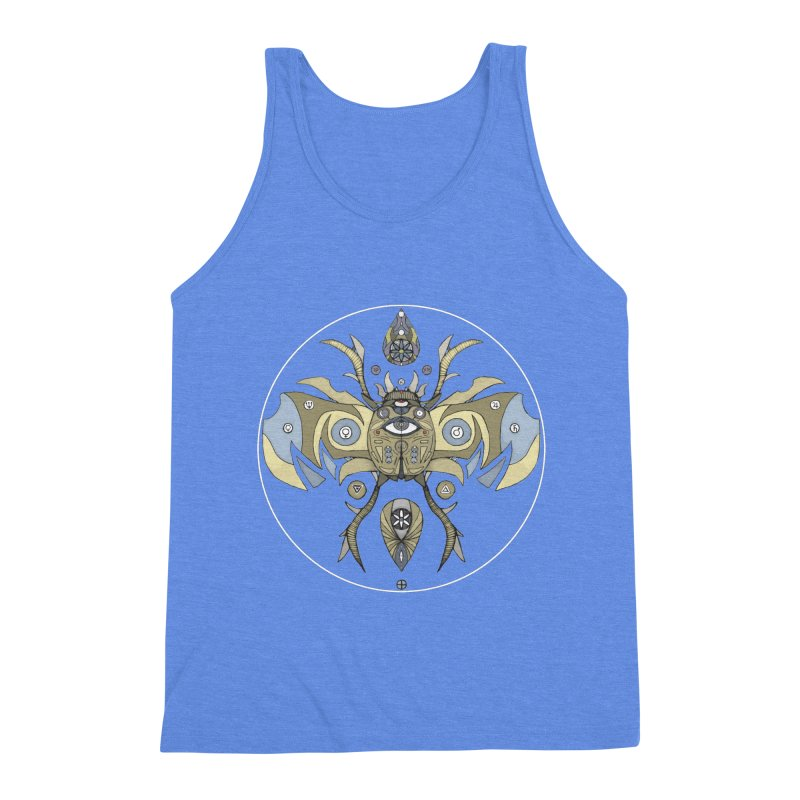 Old Soul Men's Triblend Tank by Manaburn's Shop