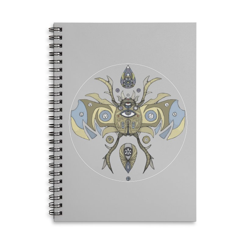 Old Soul Accessories Lined Spiral Notebook by Manaburn's Shop