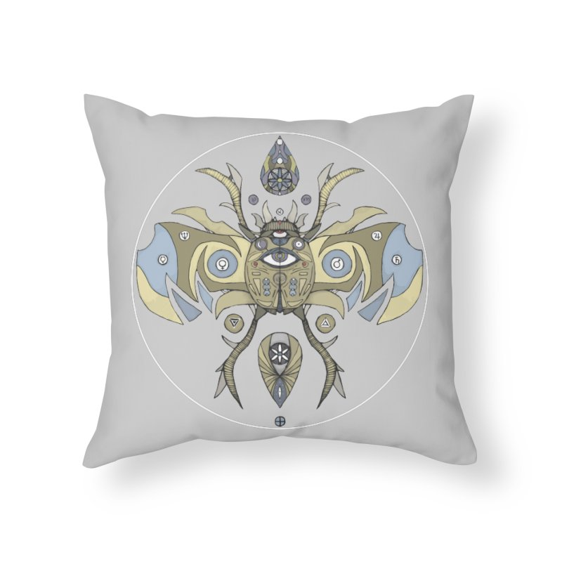 Old Soul Home Throw Pillow by Manaburn's Shop