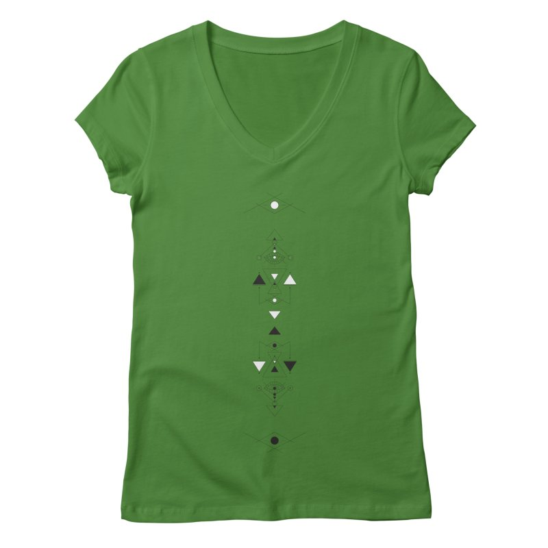 Above and Below  Women's V-Neck by Manaburn's Shop