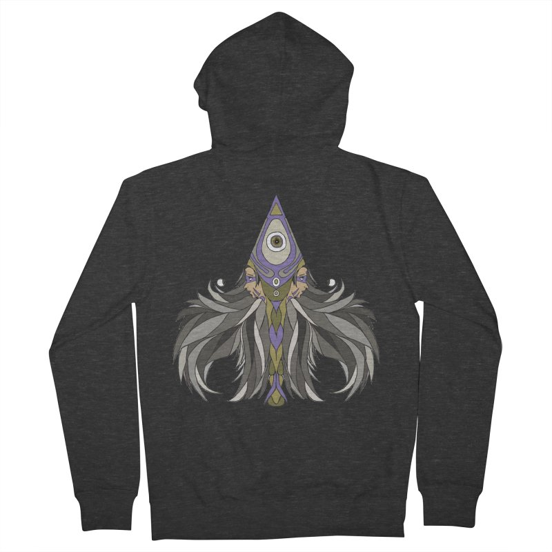Ace of Spades Men's French Terry Zip-Up Hoody by Manaburn's Shop