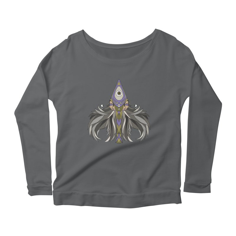Ace of Spades Women's Scoop Neck Longsleeve T-Shirt by Manaburn's Shop