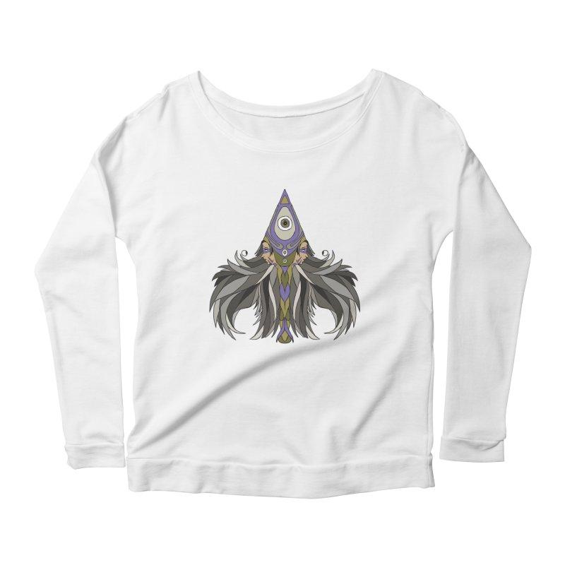 Ace of Spades Women's Scoop Neck Longsleeve T-Shirt by Manaburn's Shop