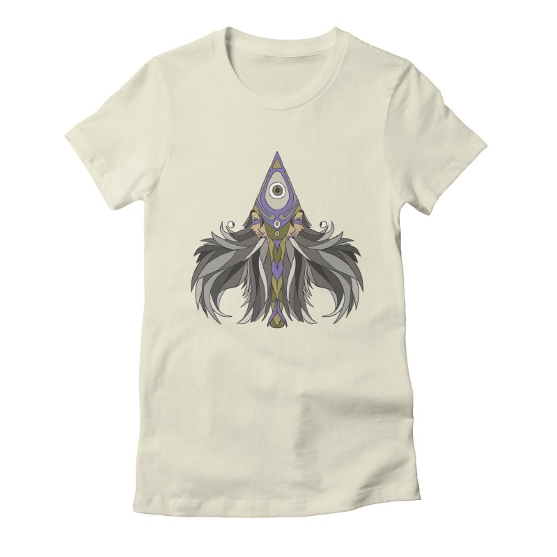 Ace of Spades Women's Fitted T-Shirt by Manaburn's Shop
