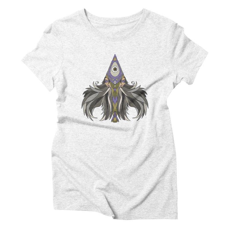 Ace of Spades Women's Triblend T-shirt by Manaburn's Artist Shop