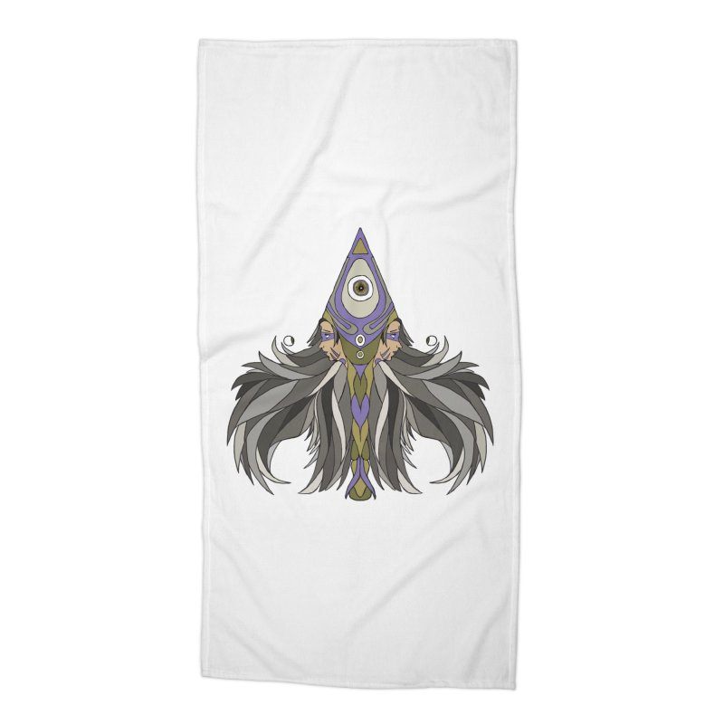 Ace of Spades Accessories Beach Towel by Manaburn's Shop