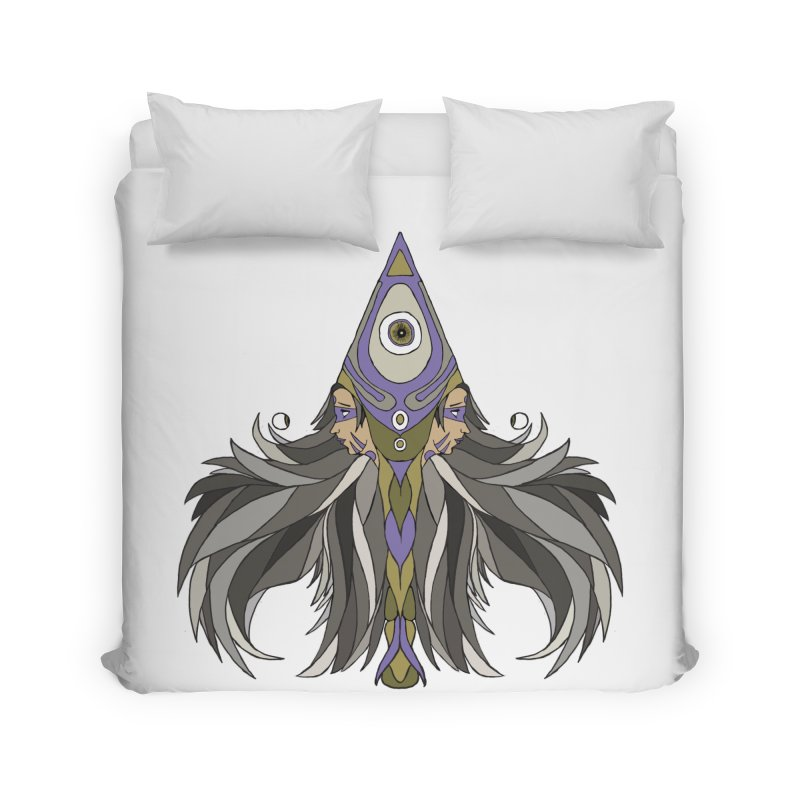 Ace of Spades Home Duvet by Manaburn's Artist Shop
