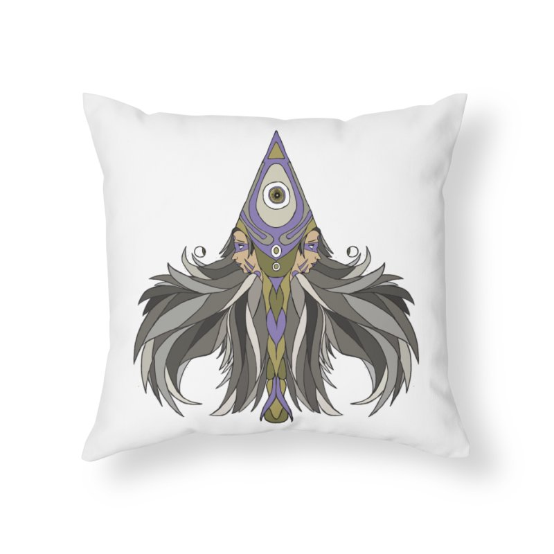 Ace of Spades Home Throw Pillow by Manaburn's Shop
