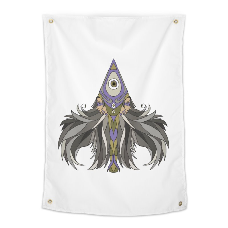 Ace of Spades Home Tapestry by Manaburn's Shop