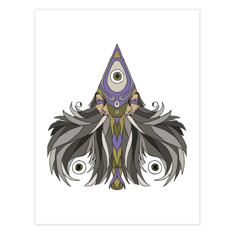 Ace of Spades Home Fine Art Print by Manaburn's Shop