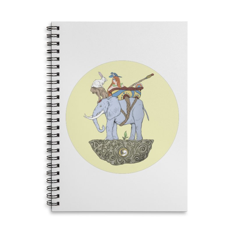 Friendship  Accessories Lined Spiral Notebook by Manaburn's Shop