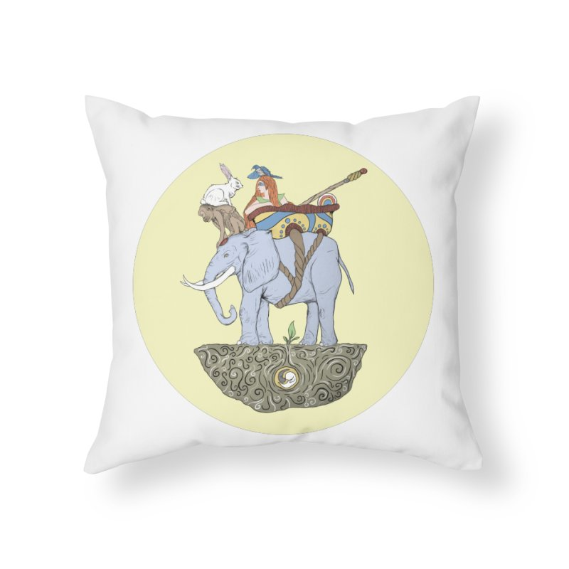 Friendship  Home Throw Pillow by Manaburn's Shop