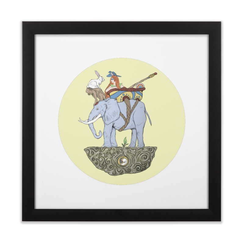 Friendship  Home Framed Fine Art Print by Manaburn's Artist Shop
