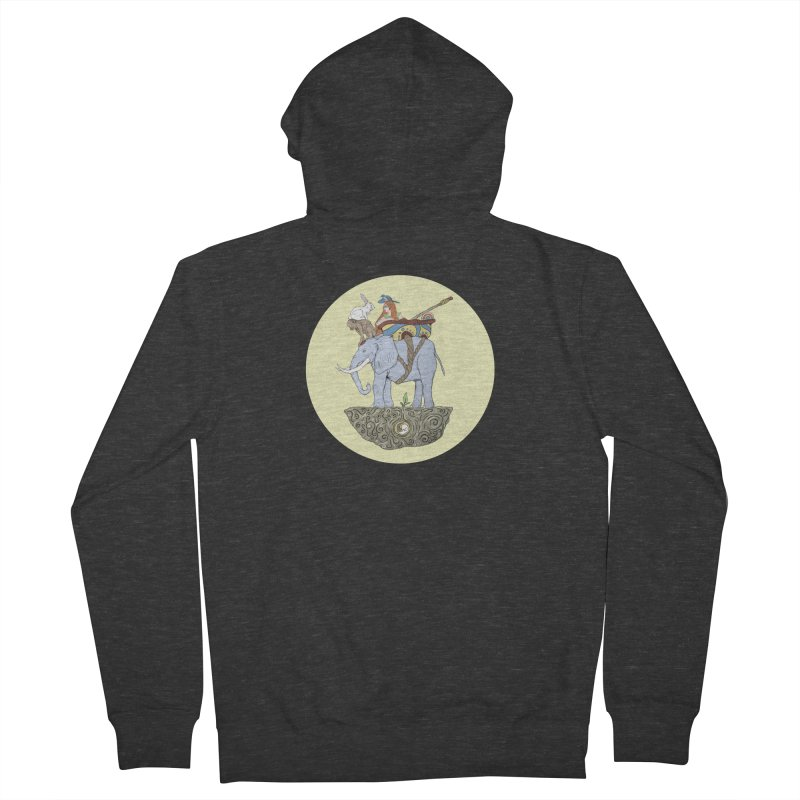 Friendship  Men's French Terry Zip-Up Hoody by Manaburn's Shop