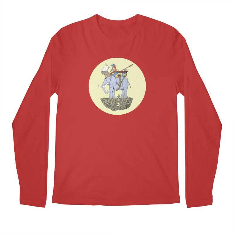 Friendship  Men's Regular Longsleeve T-Shirt by Manaburn's Shop