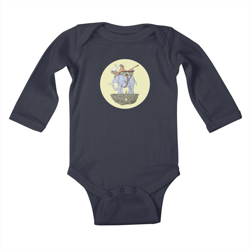Friendship  Kids Baby Longsleeve Bodysuit by Manaburn's Shop