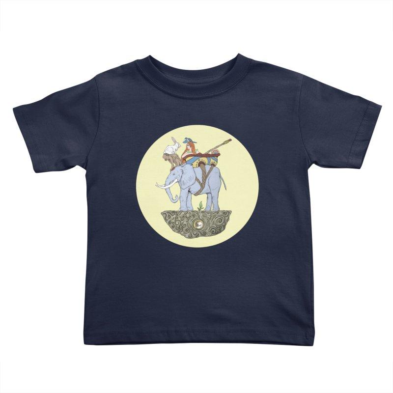 Friendship  Kids Toddler T-Shirt by Manaburn's Shop