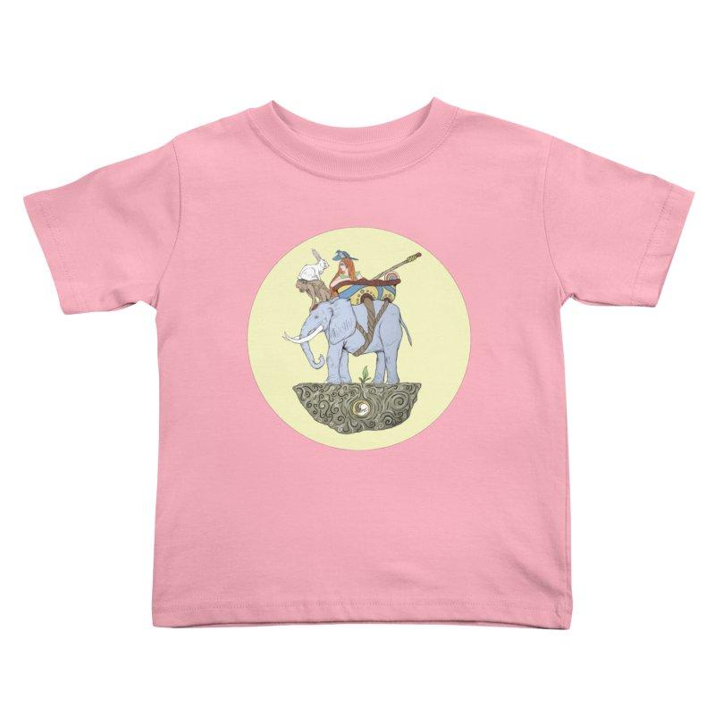 Friendship  Kids Toddler T-Shirt by Manaburn's Artist Shop