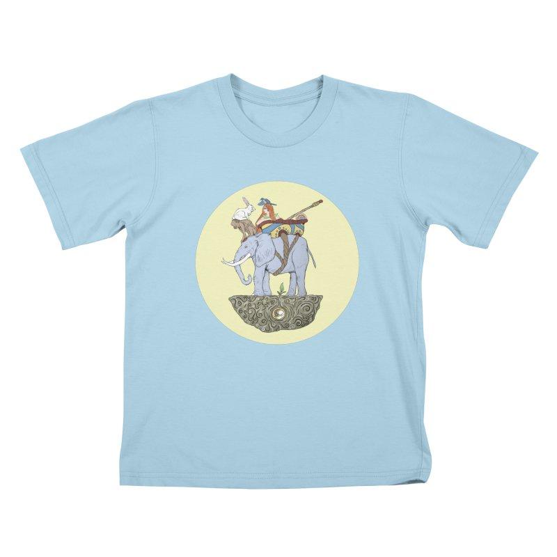 Friendship  Kids T-shirt by Manaburn's Artist Shop